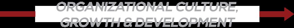 Organizational Culture, Growth & Development